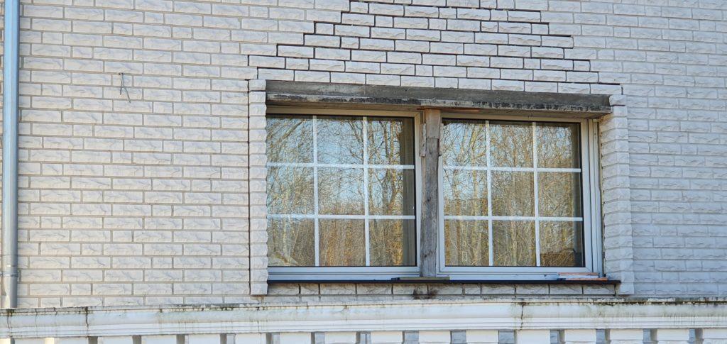 Baumangel KS Verblender bossierter Klinker Fassade