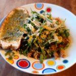Essen bei Arthrose Nudeln mit Rucola Salat
