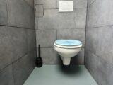 Bild verstopfte Toilette - WC